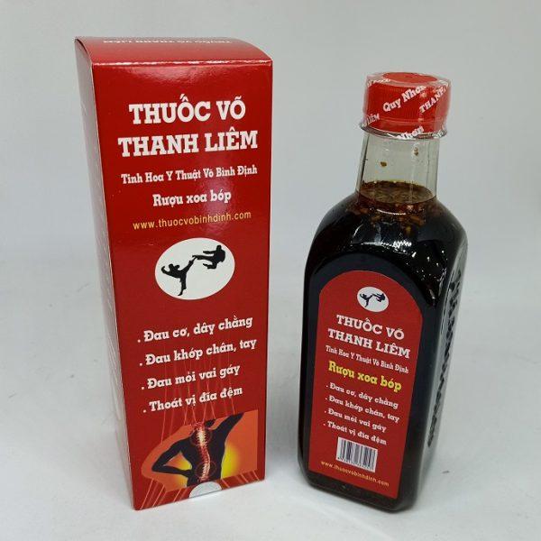 Thuốc Võ Thanh Liêm Bình Định ngâm sẵn.